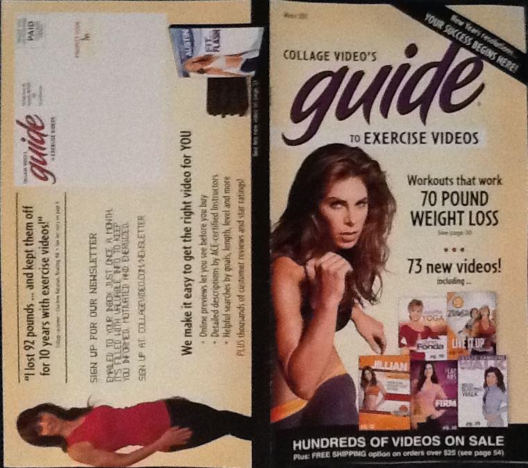 Collage Video catalog