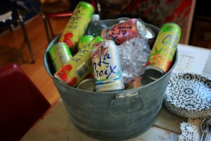 La Croix Flavored Seltzer Waters brought the sparkle! Photo by Chantal Kellerd