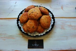 Quinoa Chocolate Chip Cookies by Torte di Venezia