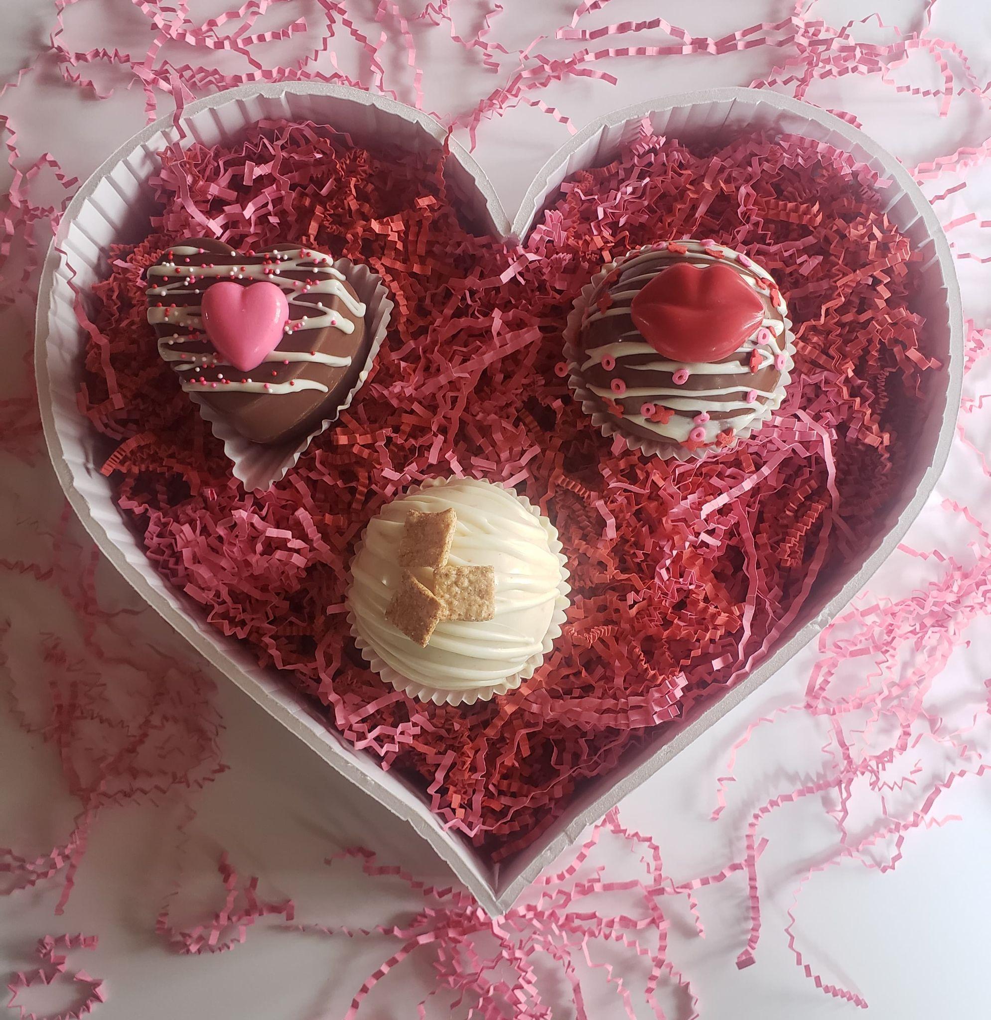 Valentine's Hot Cocoa Bombs Recipe